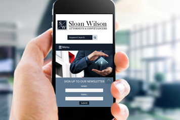 Web Design Sloan Wilson Attorneys Port Elizabeth