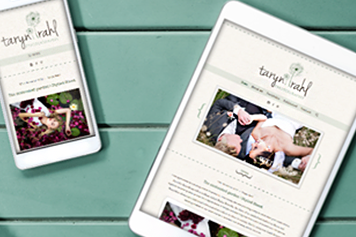 Website Design Taryn Rahl Photography