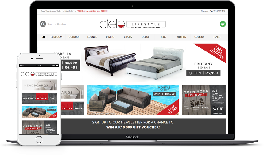 Cielo Lifestyle - Ecommerce Website